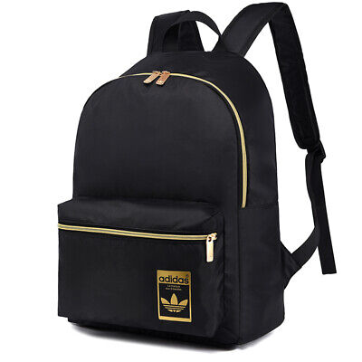 AU39.95 • Buy Adidas Originals Light Weight Backpack Travel School Bag - Black/ Cream White