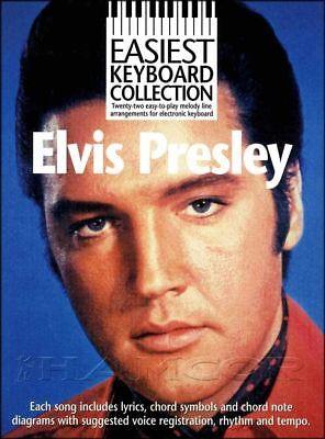 Easiest Keyboard Collection Elvis Presley Sheet Music Book SAME DAY DISPATCH • 10.24£