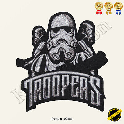 Troopers Star Wars Embroidered Iron On/Sew On Patch Badge • 1.99£