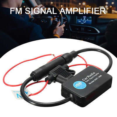 Automobile Car FM/AM Radio Stereo Antenna Signal Universal Amplifier Booster • 6.19£