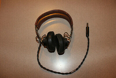 $84.95 • Buy Vintage Military US Air Force Navy Headset Receiver WW2 ANB-H-1  #2