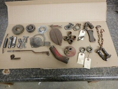 $ CDN92.83 • Buy Ford 8n Tractor Part Lot. Brake, Throttle, Hitch, Engine Parts. C-details & Pics