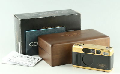 $ CDN2522.18 • Buy USED CONTAX T2 GOLD 60 YEARS 35MM POINT & SHOOT FILM CAMERA WITH BOX Japan Rare