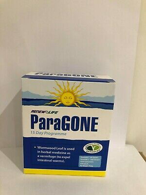 Paragone, Renew Life, 14 Day Parasite Cleanse Kit, 30ml Tincture And 60 Capsules • 19£