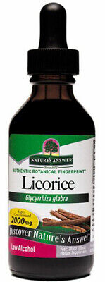 NATURES ANSWER - Licorice Root Extract - 2 Fl. Oz. (60 Ml) • 12.79£