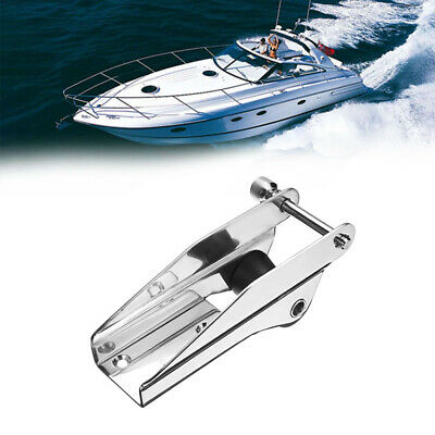 Stainless Steel 316 Heavy Bow Anchor Roller Fixed Anchor Fairlead Marine Boat  • 19.09£