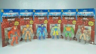 $129.99 • Buy 2020 Masters Of The Universe Origins COMPLETE Set Lot Of 6 Figures BRAND NEW