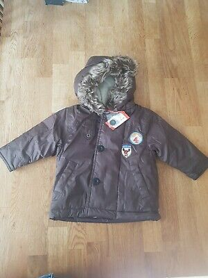 Marese Brown Coat Water Proof 12 Months 74cm RRP 99€ • 20£