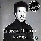 Lionel Richie - Back To Front CD • 2.99£