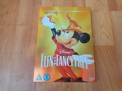 Disney Classics Number 9 Fun And Fancy Free Dvd Limited Edition O Ring Sleeve • 14.99£