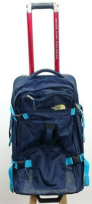 The North Face Longhaul 26 Blue Rugged Luggage Suitcase Rolling Duffel Bag • 103.28£