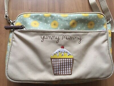 Gorgeous, Pink Lining Yummy Mummy Changing Bag Flowers And Cupcake Design Baby • 4.99£