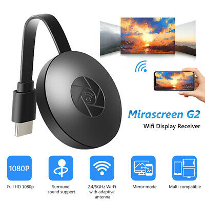 £7.23 • Buy Wifi Wireless Hdmi Mirror Screen Display Adapter For 1080p Tv Miracast Dongle 3