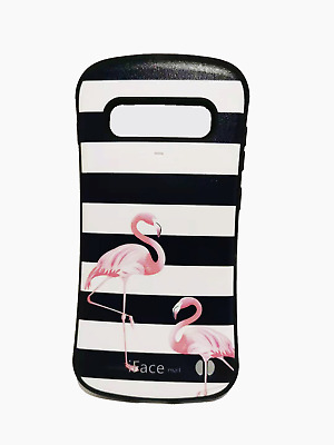 IFace Protective Bumper Shockproof Case For Samsung S10+ Flamingo Striped • 3.49£