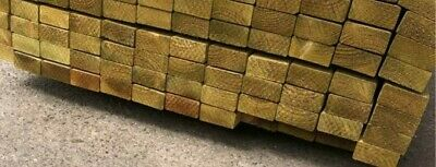 £1 • Buy 3x2 Treated C16 Timber At Various Lengths, See Description For Prices