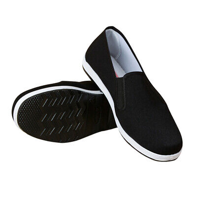 Chinese Kung Fu Shoes Tai Chi Men Breathable Non Slip Working Cloth Shoes • 9.63£