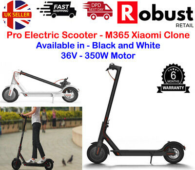 View Details NEW Pro Electric Scooter E-Scooter Adult Xiaomi M365 Pro Clone 25MPH 350W 10.4Ah • 245.99£