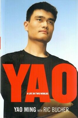 AU93.95 • Buy Yao Ming. Signed Book. Yao. A Life In Two Worlds. First Edition.