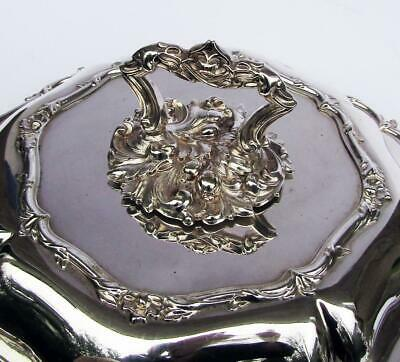 FABULOUS VICTORIAN Silver Plated OCTAGONAL ENTREE DISH 1880 James Dixon • 85£