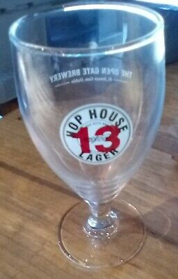 Guinness Hop House 13 Lager Half Pint Glass Chalice NEW • 2.99£