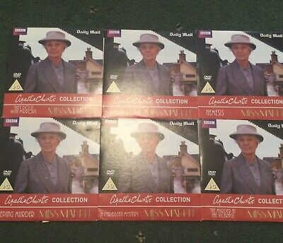 Agatha Christie Full Set Of 6 Miss Marple Dvds Joan Hickson Daily Mail • 6.01£