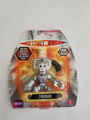 £2.95 • Buy BNIB Dr  Doctor Who Time Squad Cyberman Collectable Mini Action Figure Gift