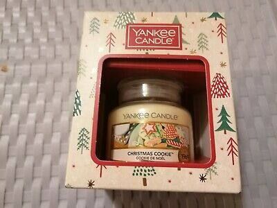 Yankee Candle Christmas Cookie Small Boxed BRAND NEW • 6.50£