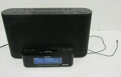 Sony XDR-DS12IP Audio Dock DAB/FM Radio 30 PIN Apple Connector - BRI S18 • 20£