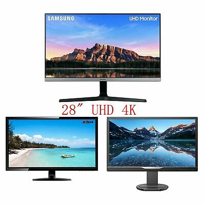 AU245 • Buy Samsung Dahua Philips 28  UHD 4K 3840x2160 16:9 Gaming Monitor DP HDMI
