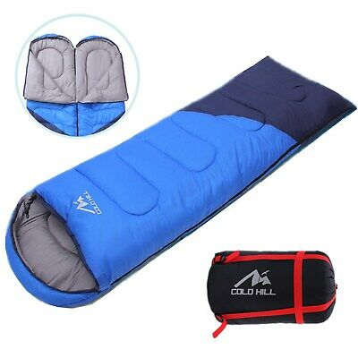$41.99 • Buy Adult Cold Weather Sleeping Bag For Big & Tall - 0 Degree Waterproof Hiking US