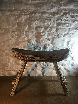 £95 • Buy Fair Trade Indonesian Hand Made Foot Stool Side Coffee Table Bench Seat Chair