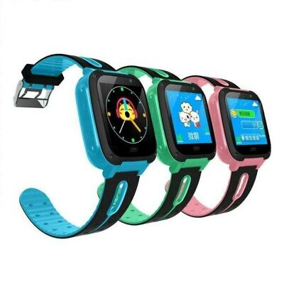 AU26.99 • Buy Anti-lost Smart Watch GPS Tracker SOS Call GSM LBS Locator For Kid Children Gift