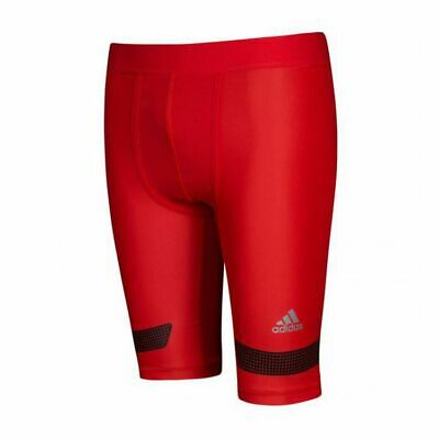 £19.99 • Buy Adidas Men's TechFit Chill Shorts Red (S95745) Sizes Small & 2XL B81