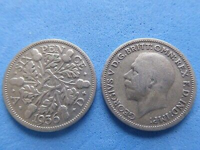 George V Silver Sixpence 1928-1936 Choose Date At Just £1.95 Each - Uk Post Paid • 1.95£