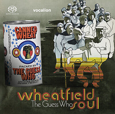 The Guess Who • WHEATFIELD SOUL & CANNED WHEAT - [SACD Hybrid Multi-channel]  • 13.99£
