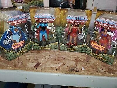 $100 • Buy MOTUC LOT Flutterina/Catra/Shokoti/Netossa *Masters Of The Universe* Lot Of 4