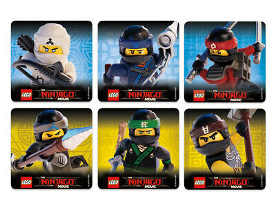 $3.35 • Buy 25 Lego Ninjago Stickers, Assorted, 2.5  X 2.5  Each, Party Favors