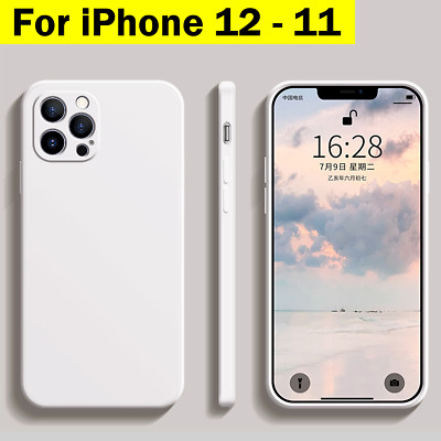 AU13.95 • Buy IPhone 12 Case Pro Max 11 Shockproof Slim Matte Bumper Soft Cover For Apple