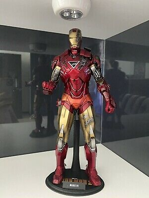 AU400 • Buy Hot Toys MMS132 Iron Man 2 Mark VI 1:6 Scale Toy Figure