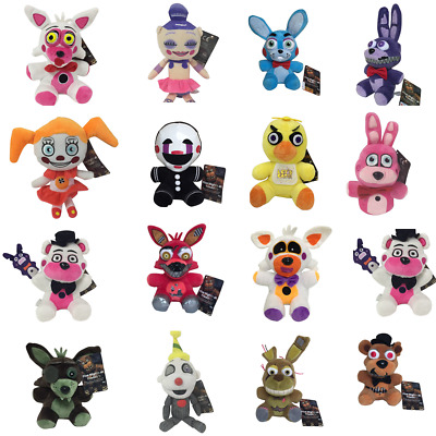AU13.59 • Buy Five Nights At Freddy''s FNAF Plush Toy Soft Doll Horror Game Stuffed Kids Gifts
