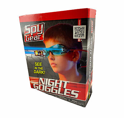 Spy Gear Night Goggles Adjustable Head Strap 2 LED Lights See In The Dark Age 6+ • 32.58£