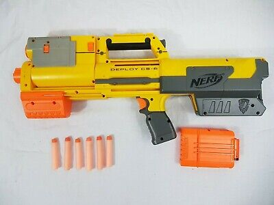 Nerf Official N-Strike Deploy CS-6 Pump Action Blaster With Ammo & Magazine  • 12.99£