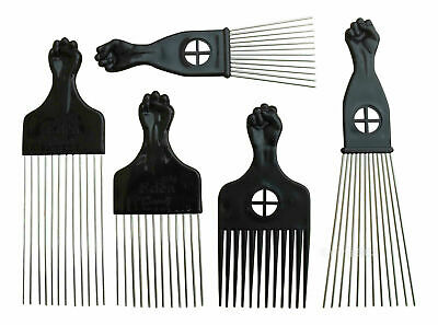 £2.29 • Buy Afro Styling Metal & Plastic Pik Comb * New * UK Free Delivery