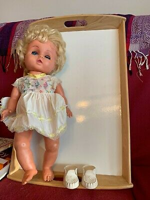 Vintage Baby Doll With Original Clothing And Cinderella Shoes 1970s • 11£