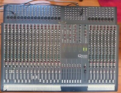 Soundcraft Ghost LE 24 Channel Analogue Mixing Desk / Mixer Console.  8 Buses.   • 500£