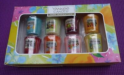 Yankee Candle Lovely Box Of 8 Sampler Candles Margarita Bellini New XMAS • 3.99£