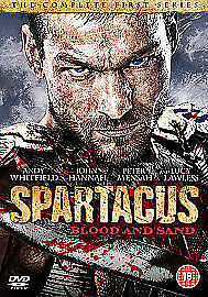 Spartacus - Blood And Sand: Series 1 DVD (2011) Andy Whitfield Cert 18 4 Discs • 1.99£