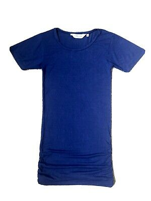 Asquith Yoga 2 Bamboo Tops, Blue And Pink, XS, Well Worn • 0.99£