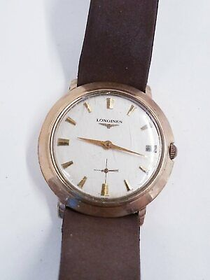 $ CDN30.71 • Buy Vintage Longines 10K Gold Filled Wind Up Watch For Parts/Repair