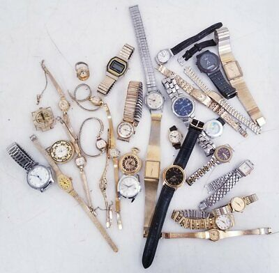 $ CDN19.69 • Buy 2.2lbs Mixed Lot Of Seiko, Citizen & Vintage Watches For Parts/Repair